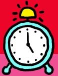 5 pm clock